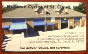 Midtown Cycles Saint Cloud Florida