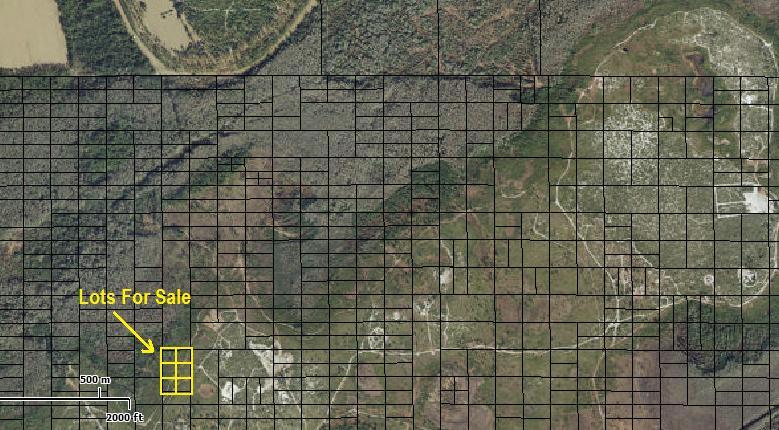 Suburban Estates Holopaw Florida camp lot for sale