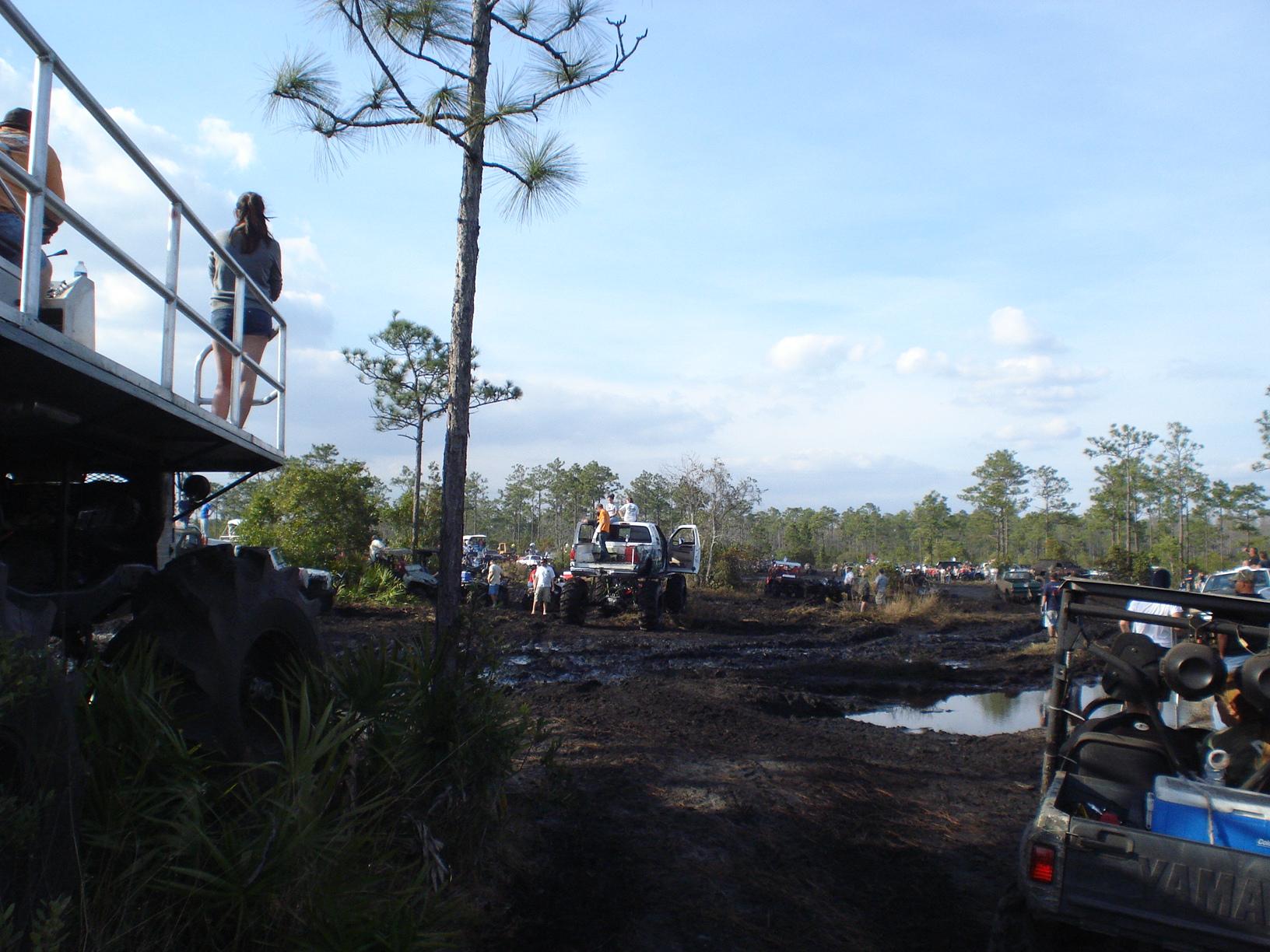 Holopaw FL Suburban Estates Mud Hole