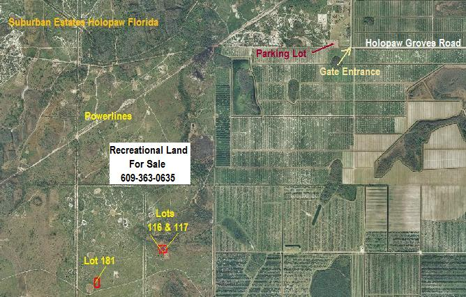 Suburban Estates Holopaw FL Recreational Land For Sale