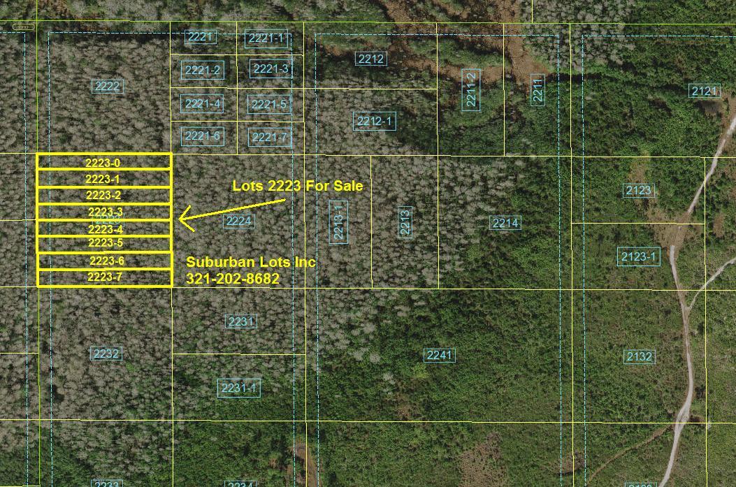 Suburban Estates Florida Recreational Land for sale