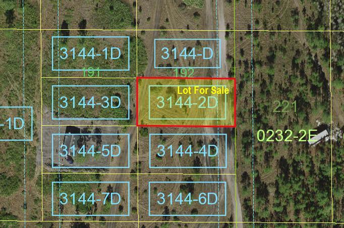 Suburban Estates Holopaw Florida lot for sale