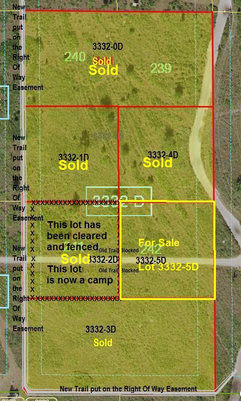Suburban Estates Holopaw Florida recreation lots for sale