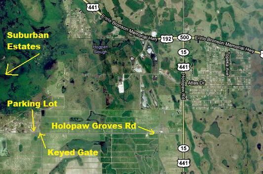 Suburban Estates Holopaw Recreational Land FL