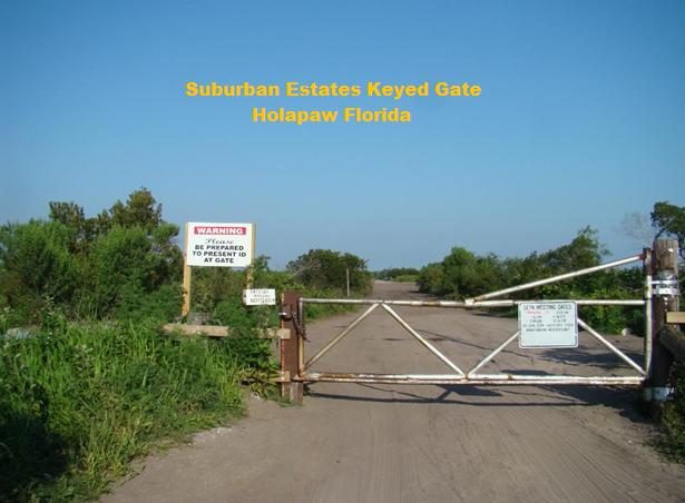Suburban Estates Holopaw Recreational land for sale