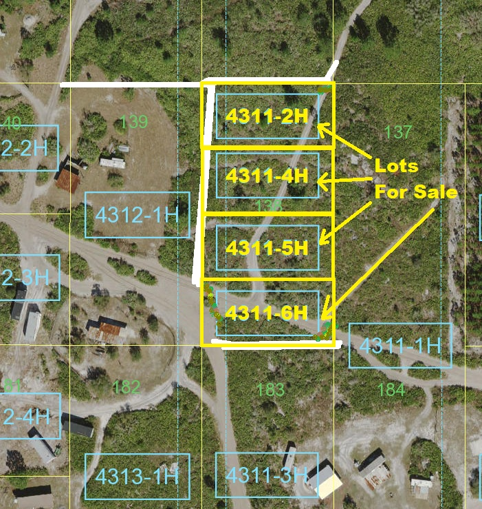 Suburban Estates Holopaw Florida Recreational Lots For Sale